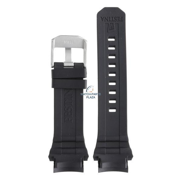 Festina Festina BC07860 Horlogeband F16600, F16601 zwart rubber / siliconen 23 mm - Chrono Bike