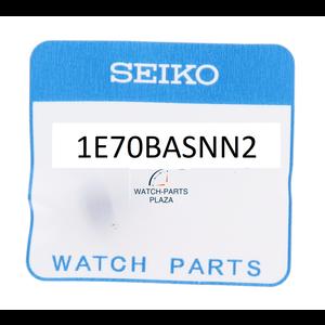 Seiko Seiko 1E70BASNN2 kroon met steel SRPD09, SRPC93 zwart