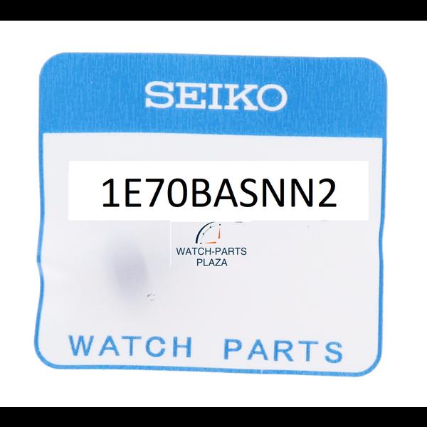 Seiko Seiko 1E70BASNN2 kroon met steel SRPD09K1, SRPC93K1 zwart 4R35-01X0 Samurai