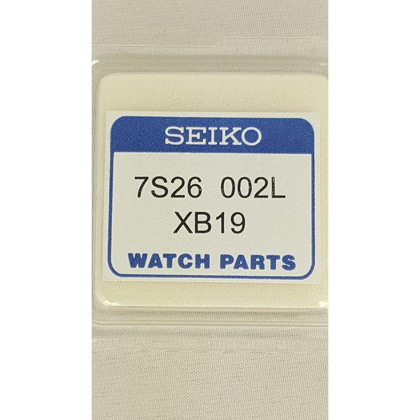 Seiko Seiko 7S26002LXB19 wijzerplaat zwart SKX007K1, SKX007J1 SKX Diver 7S26-0020