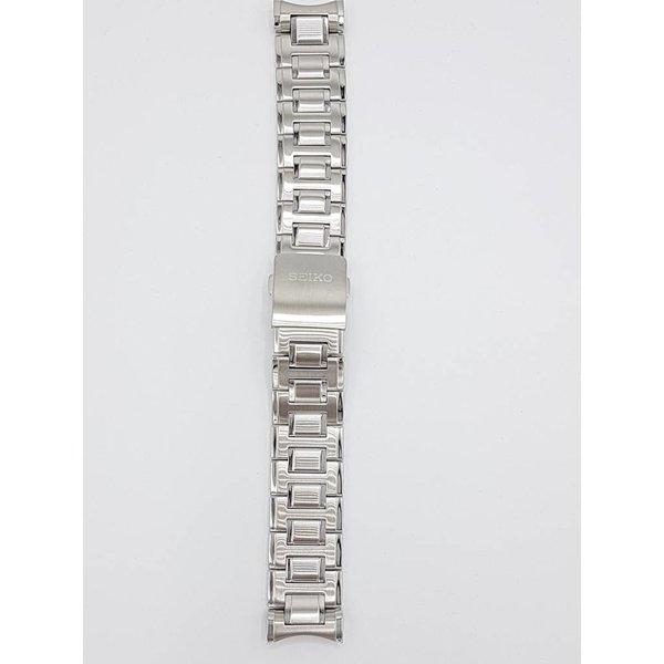 Seiko Cinturino per orologio Seiko M09B311J0 SNP, SNQ, SPC e SRX in acciaio inossidabile 7D56-0AB0, 6A32-00X0, 5D88-0AG0
