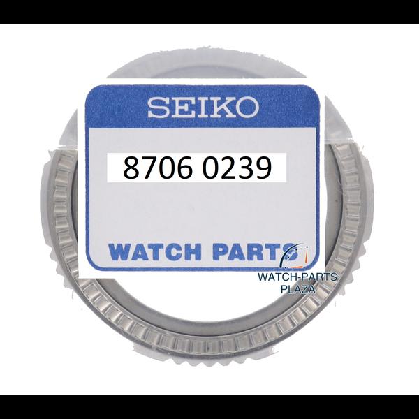 Seiko Castone Seiko 87060239 nero SNZD65, acciaio inossidabile SNZD71 7S36-02B0 5 Sport