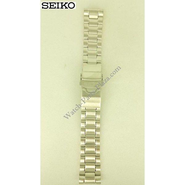 Seiko Cinturino per orologio Seiko M0EV641J0 SRPE03, SRPD21, SBDY031, SBDY039 acciaio inossidabile 22mm 4R36-06Z0, 07D0