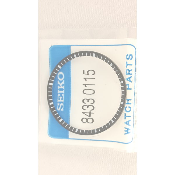 Seiko Anello Seiko 84330115 quadrante / capitolo SBDX001, SBDX017, SLA011 nero 8L35 0010, 00K0 Prospex MM300 MarineMaster