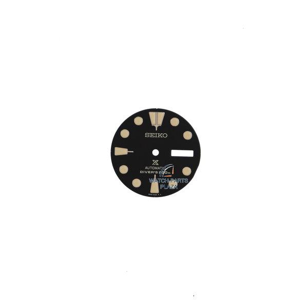 Seiko Seiko 4R3604Z4XB43 schwarzes Zifferblatt SRPC49 original 4R36 06L0 original Ninja Turtle Black Series