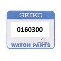 Disco ruota da giorno Seiko 0160300 NERO inglese / francese per 7S26