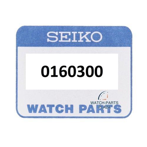 Seiko Disco de rueda de día Seiko 0160300 NEGRO Inglés / Francés para 7S26 - 0020, 0030, 0040, 7020, 0110