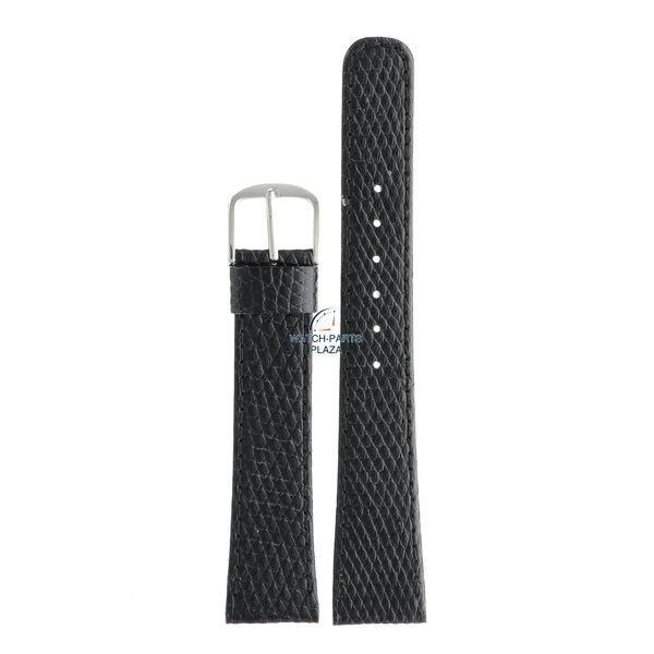 Seiko Seiko WLM48S Watch band 2620, 8620, H448, H449 black leather 18 mm - Quartz