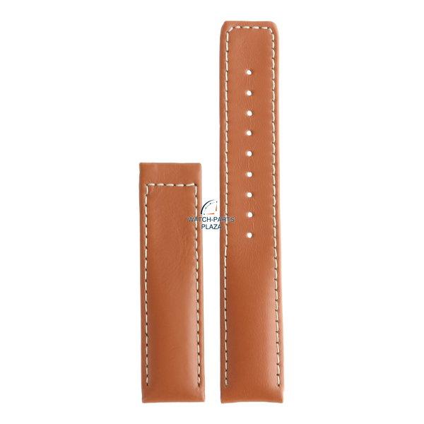 Seiko Seiko 4J30JB-LB Watch band 7N39 0A50, 0AB0 - SKP055 brown leather 18 mm - Premier