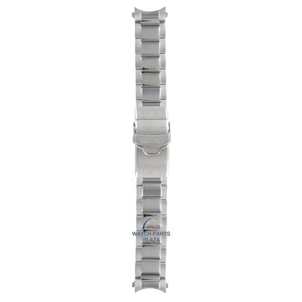 Seiko Seiko M0ES327J0 Cinturino dell'orologio SSC015 - V175 0AD0 grigio acciaio inossidabile 20 mm - Prospex Solar