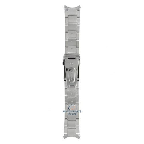Seiko Seiko 3398JB Horlogeband SNZF03, SNZF05 - 7S36 02V0 Grijs Roestvrijstaal 22 mm - 5 Sports