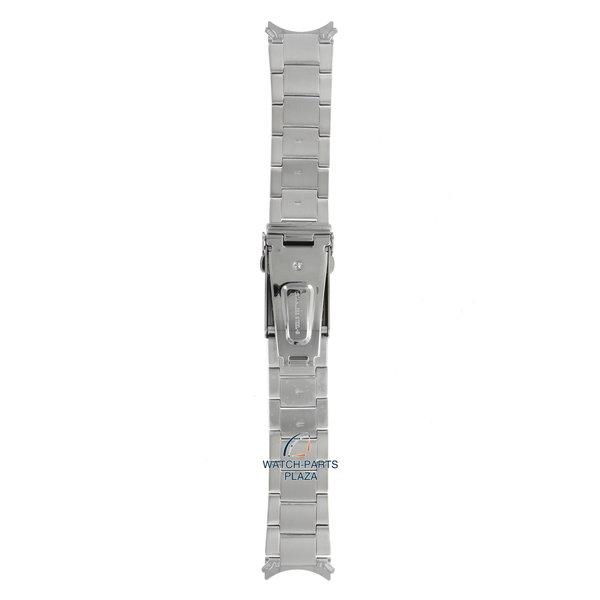 Seiko Seiko 3398JB Cinturino dell'orologio SNZF03, SNZF05 - 7S36 02V0 grigio acciaio inossidabile 22 mm - 5 Sports
