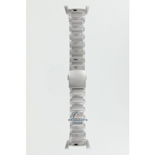 Seiko Seiko 35M7JB Horlogeband SNAA95, SNL043 Retrograde Grijs Roestvrijstaal 22 mm - Sportura