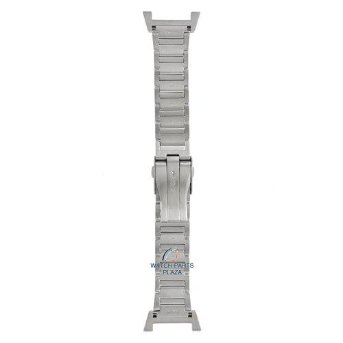 Seiko Seiko 35M7JB Pulseira de relógio SNAA95, SNL043 Retrograde cinza aço inoxidável 22 mm - Sportura