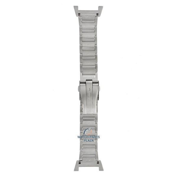 Seiko Seiko 35M7JB Cinturino dell'orologio SNAA95, SNL043 Retrograde grigio acciaio inossidabile 22 mm - Sportura