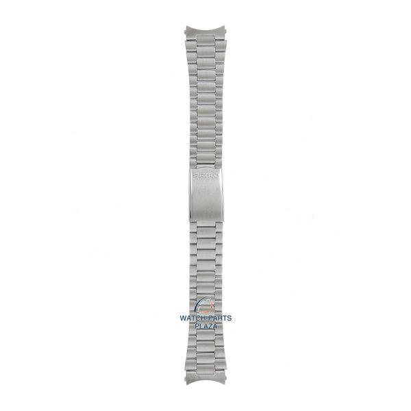 Seiko Seiko B1497S Cinturino dell'orologio SCWG, SNX - 7009 & 7S26 grigio acciaio inossidabile 19 mm - 5