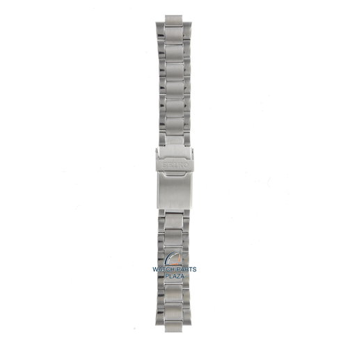 Seiko Seiko 48T8JG Horlogeband SKJ, SMY - 5M43 & 5M63 Grijs Roestvrijstaal 10 mm - Kinetic