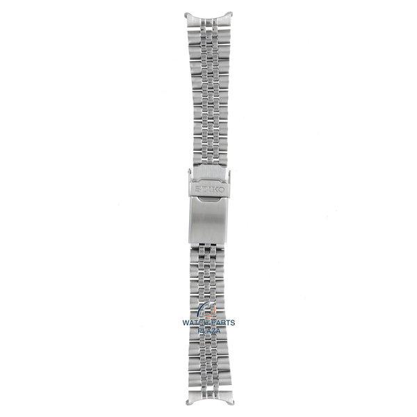 Seiko Seiko 44G2JZ Cinturino dell'orologio SKX013 - 7S26 0030 grigio acciaio inossidabile 20 mm - Diver