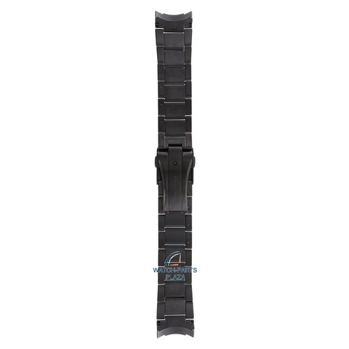 Seiko Seiko M0ESA64M0 Pulseira de relógio SSF005 - 8X22 0AC0 GPS preto aço inoxidável 22 mm - Sportura Solar
