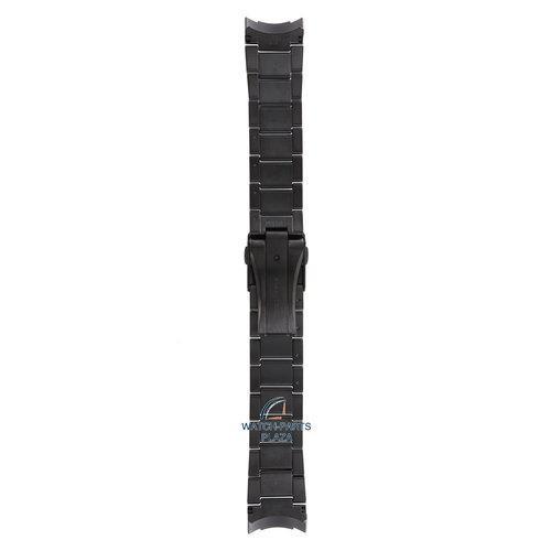 Seiko Seiko M0ESA64M0 Horlogeband SSF005 - 8X22 0AC0 GPS Zwart Roestvrijstaal 22 mm - Sportura Solar