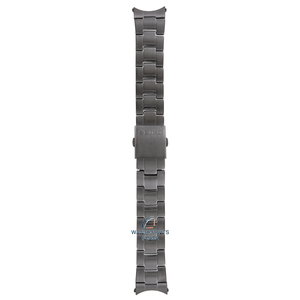 Seiko Seiko M01M411N0-L Cinturino dell'orologio SSB131 - 6T63 Gun Metal