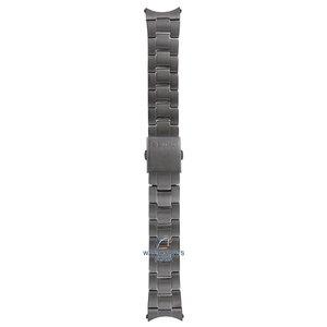 Seiko Seiko M01M411N0-L Watch band SSB131 - 6T63 Gun Metal