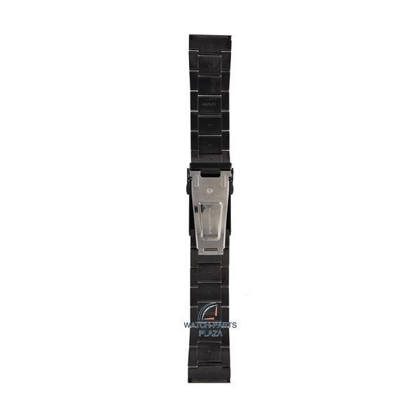 Seiko Seiko M0ES124M0 Cinturino dell'orologio SRP449 - 4R35 00F0 nero acciaio inossidabile 22 mm - Superior