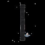 Seiko Seiko B1625F Cinturino dell'orologio 5H23 6370, 6379 Sports 150 nero acciaio inossidabile 18 mm - SQ