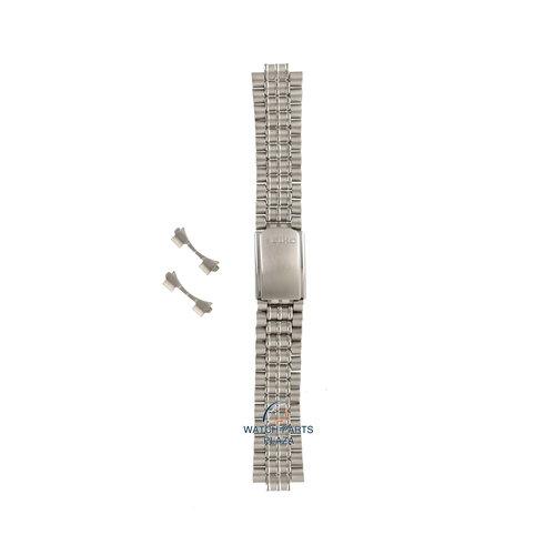 Seiko Seiko 43V8JB Uhrenarmband SKH145 - 5M42 0B80 grau Edelstahl 20 mm - Kinetic