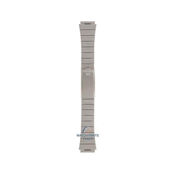 Seiko Seiko Z1281S Cinturino dell'orologio SBH023 - 5H23 7010 Armour grigio acciaio inossidabile 18 mm - SQ