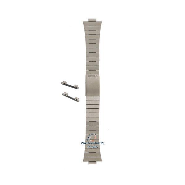 Seiko Seiko Z1266S Cinturino dell'orologio 7019 5340, 5350 grigio acciaio inossidabile 19 mm - 5