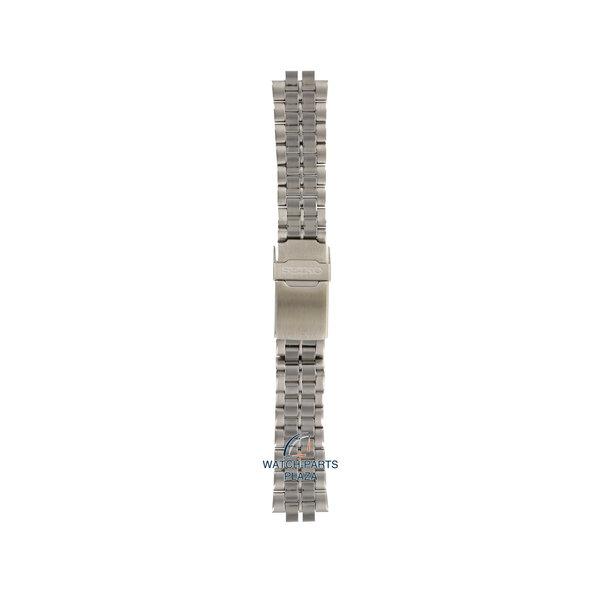 Seiko Seiko B1799S Cinturino dell'orologio 6F24 Moonphase grigio acciaio inossidabile 20 mm - Sports 150