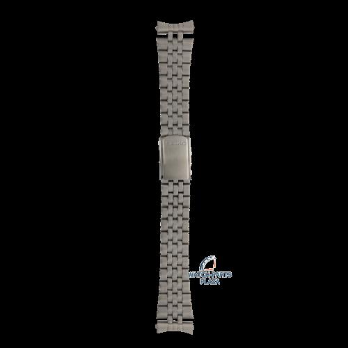 Seiko Seiko Z1507J Pulseira de relógio SHC015, SHC017 Diver cinza aço inoxidável 22 mm - Diver