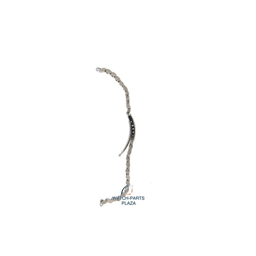Seiko Seiko Z5003S Pulseira de relógio 8523 0180 - STW131 cinza aço inoxidável 13 mm - SQ