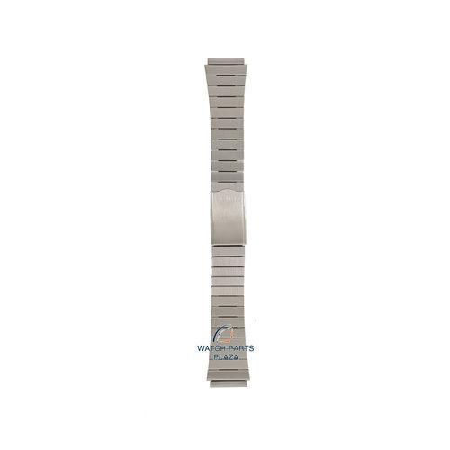 Seiko Seiko G1250S Cinturino dell'orologio 7009 & 6309 grigio acciaio inossidabile 18 mm - 5