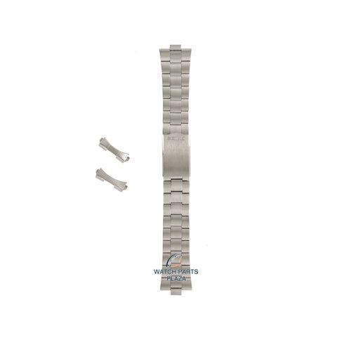 Seiko Seiko Z1268S Horlogeband 7009 4000 Grijs Roestvrijstaal 19 mm - 5