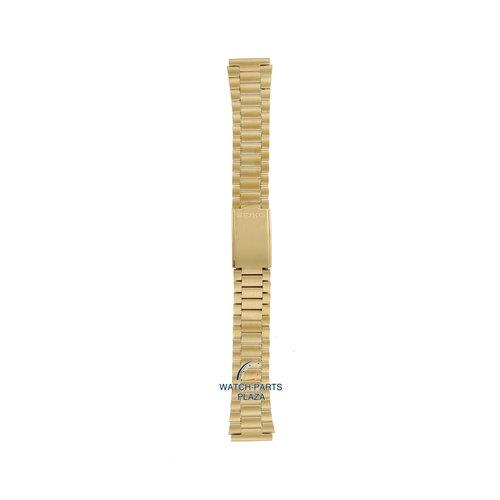 Seiko Seiko G1226G Cinturino dell'orologio 7009, 7S26 & 6309 grigio acciaio inossidabile 18 mm - 5