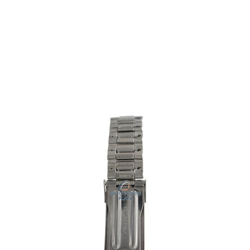 Seiko Seiko M03M219J0 Horlogeband SNDC41 / SNDC53 Grijs Roestvrijstaal 20 mm - Chronograph