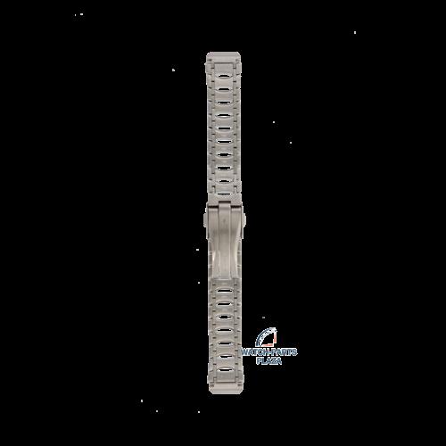 Seiko Seiko 3011JB Horlogeband 5J22 Kinetic Auto Relay Grijs Roestvrijstaal 16 mm - Arctura