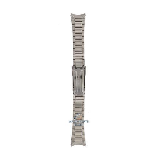 Seiko Seiko 44Z9JG Horlogeband SGD44 - 7N42 8070 Grijs Roestvrijstaal 20 mm - Military