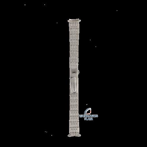 Seiko Seiko Z5475S Pulseira de relógio 7N82 0110 cinza aço inoxidável 14 mm - Sports 150
