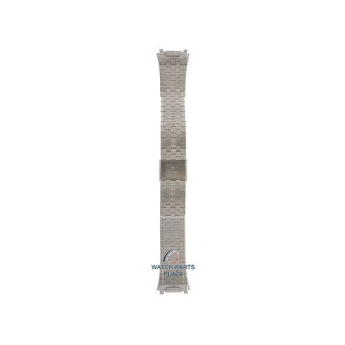 Seiko Seiko M010S Uhrenarmband 2639 5010 - WFT017 grau Edelstahl 18 mm - Quartz