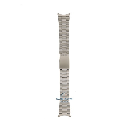 Seiko Seiko Z1400S Watch band 6319 8180 - SDR297 grey stainless steel 19 mm - 5