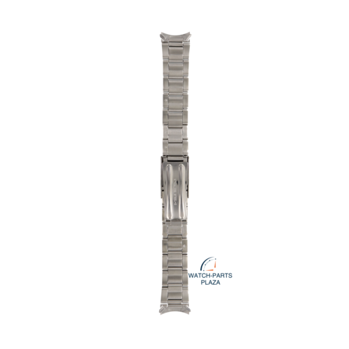 Seiko Seiko 4768JG Watch band 7S26 - SKX427, SKX533 grey stainless steel 18 mm - Military
