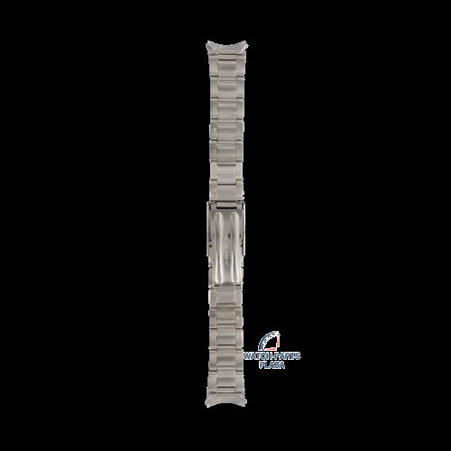 Seiko Seiko 4768JG Pulseira de relógio 7S26 - SKX427, SKX533 cinza aço inoxidável 18 mm - Military
