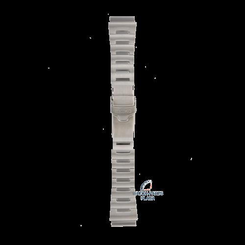 Seiko Seiko M0JT211J0 Cinturino dell'orologio SRP637 - Baby Tuna grigio acciaio inossidabile 22 mm - Prospex
