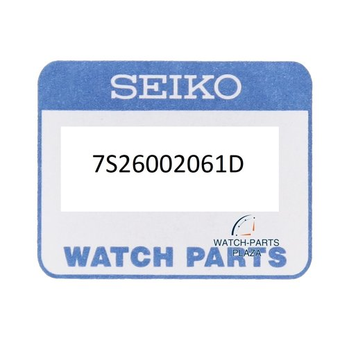 Seiko Seiko 7S26002061D watch case SKX007J1, SKX007J2, SKX007J3 Diver black original 7S26-0020
