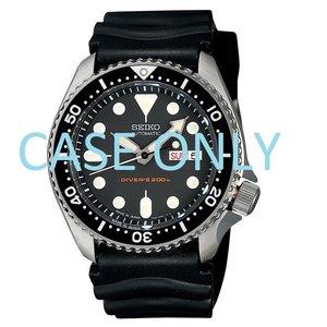 Seiko Seiko 7S26002061D caja de reloj SKX007J1 Diver negro original 7S26-0020