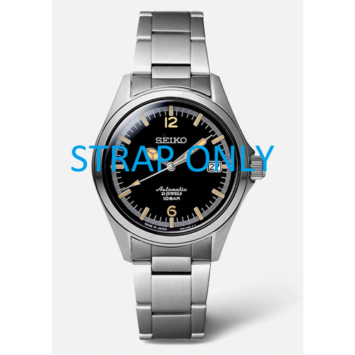 Seiko Seiko W57D1AM horlogeband SZSB006 roestvrij staal 4R35-02R0 20mm TicTac 35th Anniversary