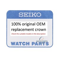 Seiko 8K70APSNW1 crown 3 for 5M62 0CH0, 5M82 0AH0, 0BE0, 7T62 0KP0